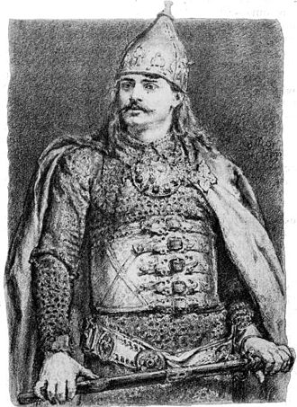 Bolesław III Wrymouth - A 19th-century depiction of Bolesław, by Jan Matejko