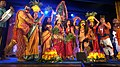 Bonalu Folk Art form performance in Janapada Jathara (2018).jpg