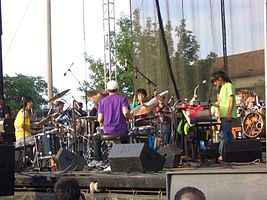 Boredoms at the 2006 Intonation Music Festival in Chicago
