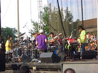 Boredoms - Boredoms at the 2006 Intonation Music Festival in Chicago