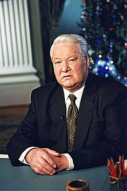 Boris El'cin annuncia alla televisione russa le sue dimissioni il 31 dicembre 1999