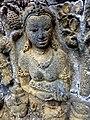 Borobudur - Divyavadana - 110 E, Maitrakanyaka meets with sixteen Nymphs (detail 1) (11705014705).jpg