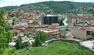 Bosanska Krupa - Image: Bos Krupa, kula