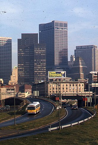 100 Summer Street - Image: Boston, from Southeast Expressway