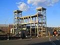 Boston Landing elevator bridge under construction, 4 August 2016.JPG