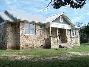 National Register of Historic Places listings in Izard County, Arkansas - Image: Boswell School