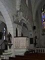Boulazac église chaire.JPG