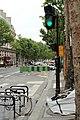 Boulevard Saint-Martin (Paris), feu rouge 03.jpg