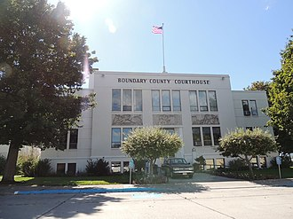 National Register of Historic Places listings in Boundary County, Idaho - Image: Boundary County Courthouse