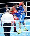 Boxing at the 2016 Summer Olympics, Sotomayor vs Amzile 10.jpg
