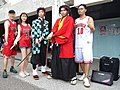 Boy, Lily Cao, Dabao Lin and Demon Slayer cosplayers 20200704c.jpg