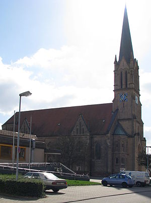 Brühl (Baden) - Catholic church
