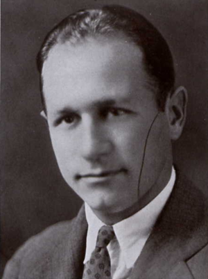 Brady Cowell - Cowell from 1931 Seminole yearbook