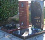 Les tombes de Bruce et Brandon Lee à Seattle.