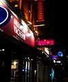 Brasserie Vacherin by night, SUTTON, Surrey, Greater London.jpg