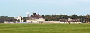 Braunschweig Wolfsburg Airport - Image: Braunschweig Flugbahn