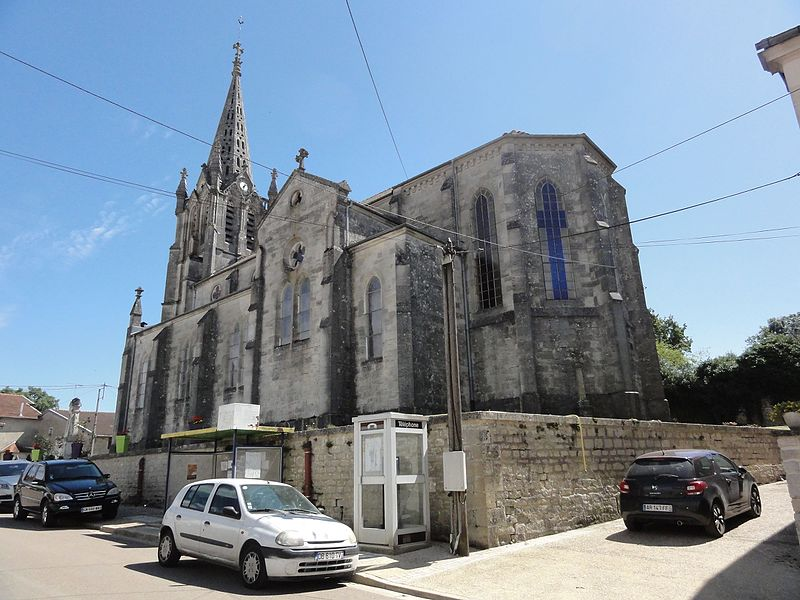 Brauvilliers (Meuse) église