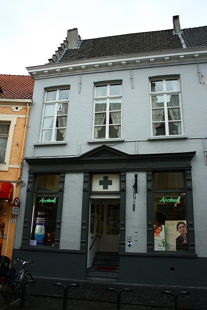 Fichier breedhuis deel vroeger munthof nu handelspand - Office du tourisme bruges belgique adresse ...