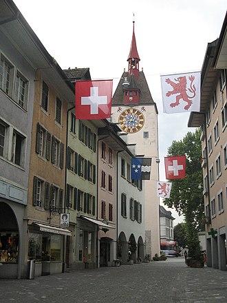 Bremgarten, Aargau - Spittel tower in Bremgarten
