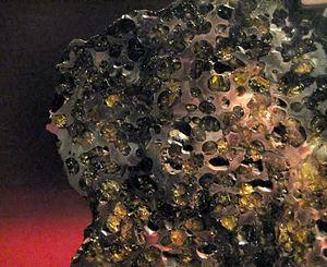 Brenham (meteorite) - Image: Brenham AMNH 2