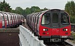 Brent Cross tube station MMB 05 1995 Stock.jpg