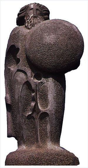 Breogán - Breogán statue in A Coruña