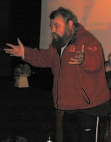 Brian Blessed al Festival de Cinema de Cambridge (2007)