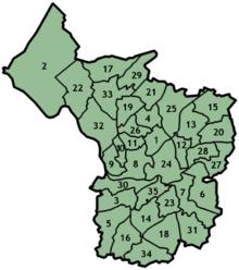 List of wards in Bristol by population