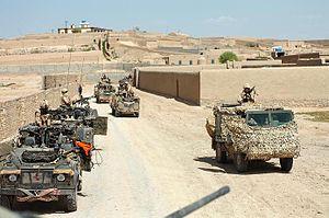 Siege of Sangin - Image: British Patrol Helmand 01