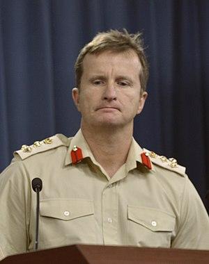 Paul Nanson - Brigadier Nanson in 2014