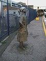 Brixton rail station statue southbound.JPG
