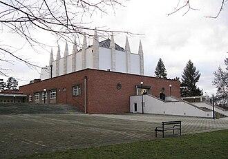 Ernst Wiesner - Crematorium in Brno