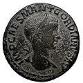 Bronze coin, Antioche, Pisidie, Gordien III, obverse.jpg