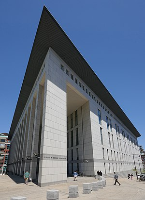 Boston Municipal Court - The Edward W. Brooke Courthouse, 24 New Chardon Street, Boston houses the Administrative Office of the Boston Municipal Court Department and is home to the Central Division.