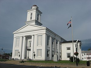 Brown County, Ohio - Image: Brown County Courthouse in Georgetown from southwest
