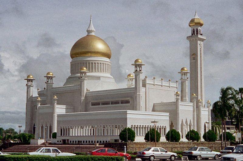 Brunei - Masjid Sultan Omar Ali Saifuddin Moskee