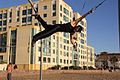 Bruno Angelico creator of this new and extreme expression on the Traveling Rings in Santa Monica USA..jpg