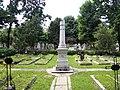 Bucuresti, Romania. Cimitirul Bellu Catolic. Locul cu mormintele Preotilor. Aici a fost ingropat si Episcopul Martir IOAN BALAN. (detaliu 2).jpg