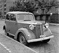 Budaörsi út, Vauxhall 12 típusú személygépkocsi, Budapest 1961. - Fortepan 104388.jpg