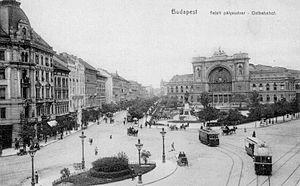 Budapest Keleti railway station - Image: Budapest keleti historic