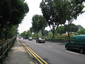 Bukit Timah - Bukit Timah Road is one of the earliest roads in Singapore.