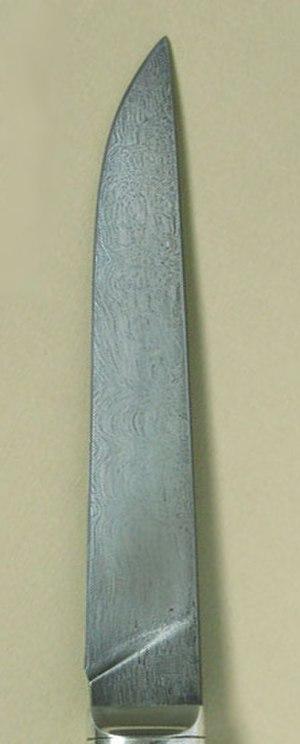 Bulat steel - Bulat steel blade of a knife