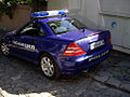Mercedes benz of the Bulgarian police