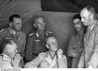 Alfred Gause German General and Knights Cross recipients