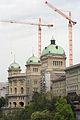 Bundeshaus während Renovation, Mai 2006 (6).jpg