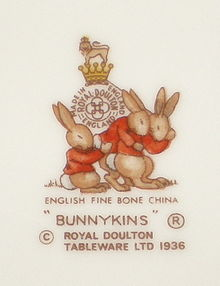 Royal Doulton Bunnykins : bunnykins royal doulton tableware ltd 1936 - Pezcame.Com