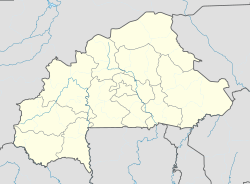 Loropéni is located in Burkina Faso