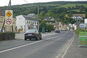Burnfoot, County Donegal - Image: Burnfoot Donegal panoramio