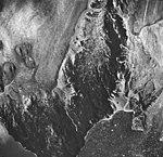 Burroughs and Dead Muir Glaciers, mountain glacier terminus, icebergs in water, August 24, 1963 (GLACIERS 5915).jpg