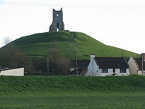 Burrow Mump - Burrow Mump from the village of Burrowbridge